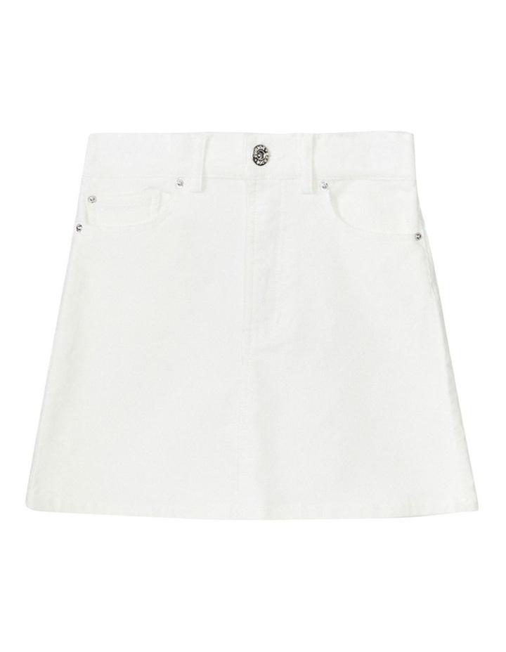 Estelle Cord Mini Skirt image 1