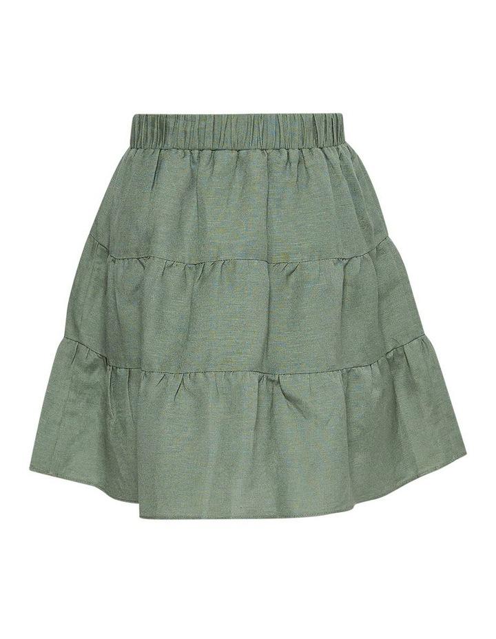 Tessa Mini Skirt Green image 2