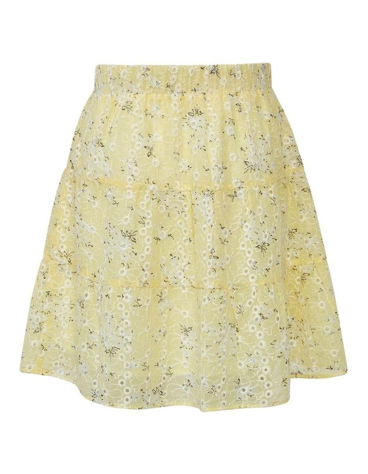 Ella Tiered Skirt Yellow image 3