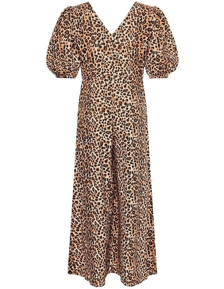 Lianna Leopard Print Wide Leg Jumpsuit image 2