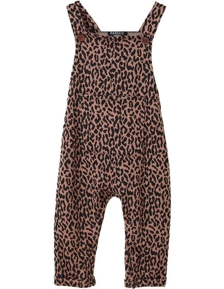 Leopard Print Overalls image 1
