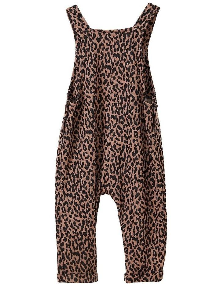 Leopard Print Overalls image 2