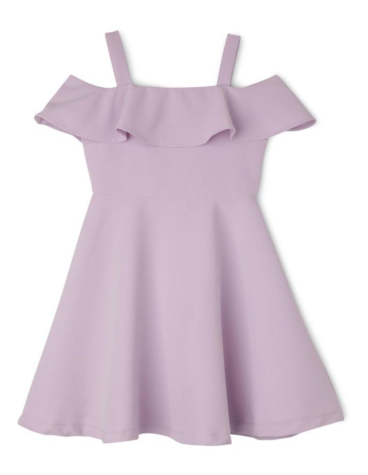 Ruffled Bardot Dress image 1