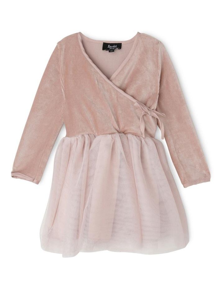 WRAP KNIT DRESS 000-3 image 1