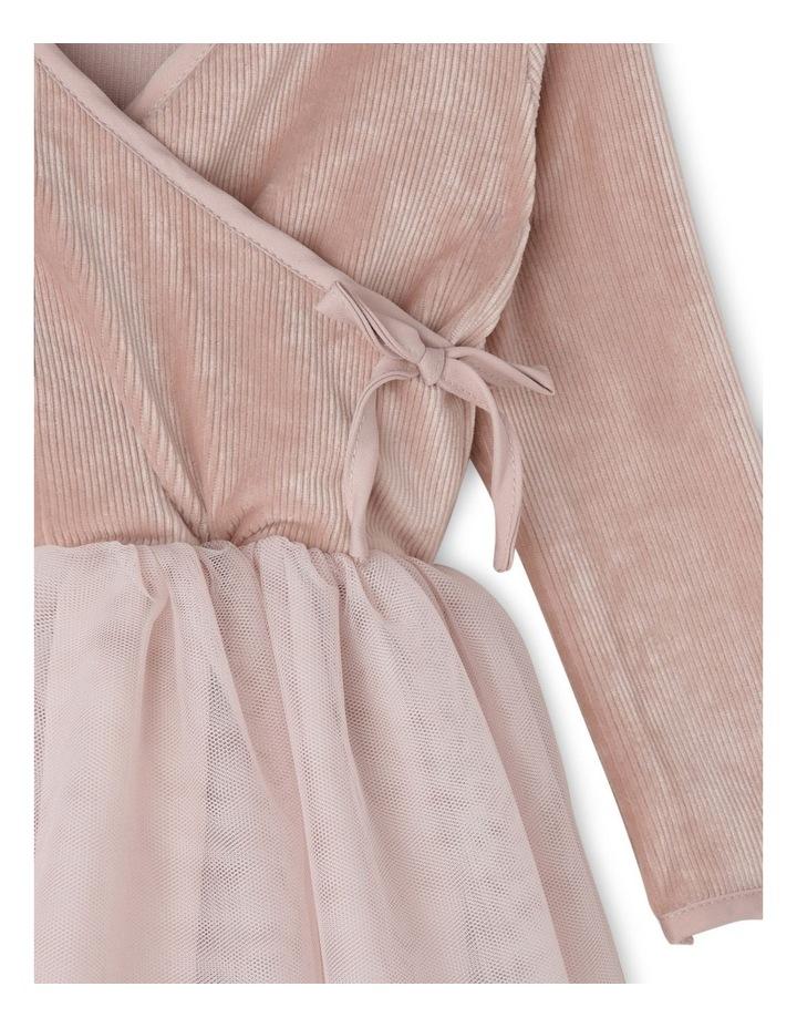 WRAP KNIT DRESS 000-3 image 2