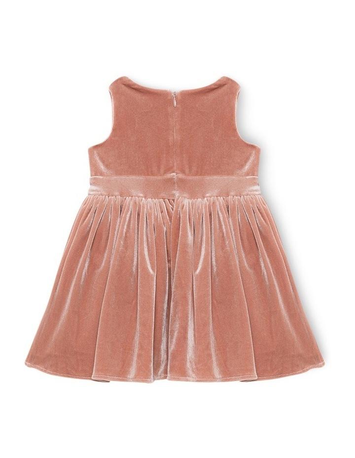 Velour Bowie Dress 000-3 image 2