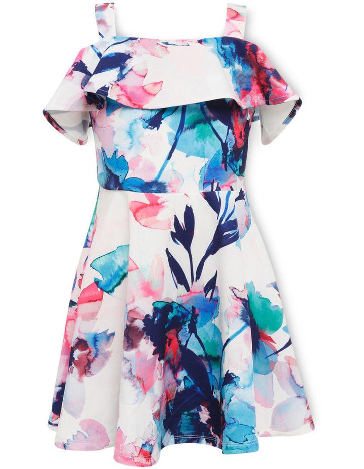 Arabella Cold Shoulder Dress 4-7 image 1
