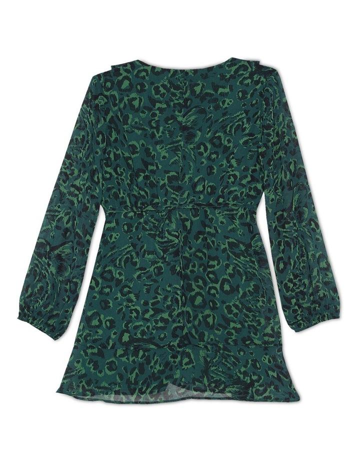 CLAIRE WRAP DRESS image 2