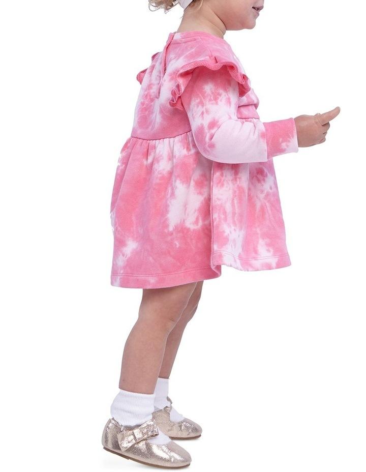 Tie Dye Knit Dress 000-2 image 2