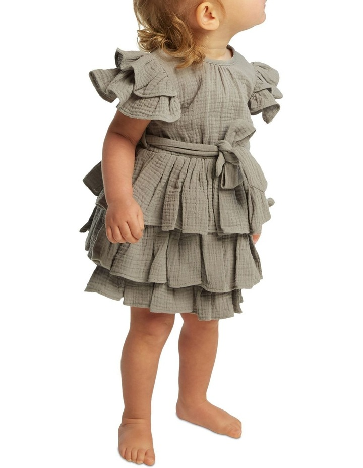 Edna Ruffle Dress 000-2 image 2