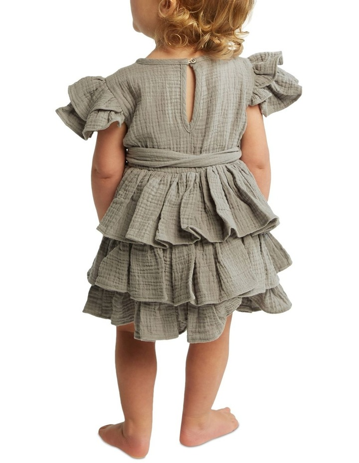 Edna Ruffle Dress 000-2 image 3