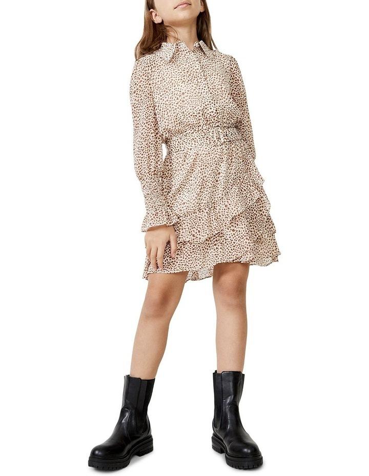 Bessie Mini Dress Beige image 1