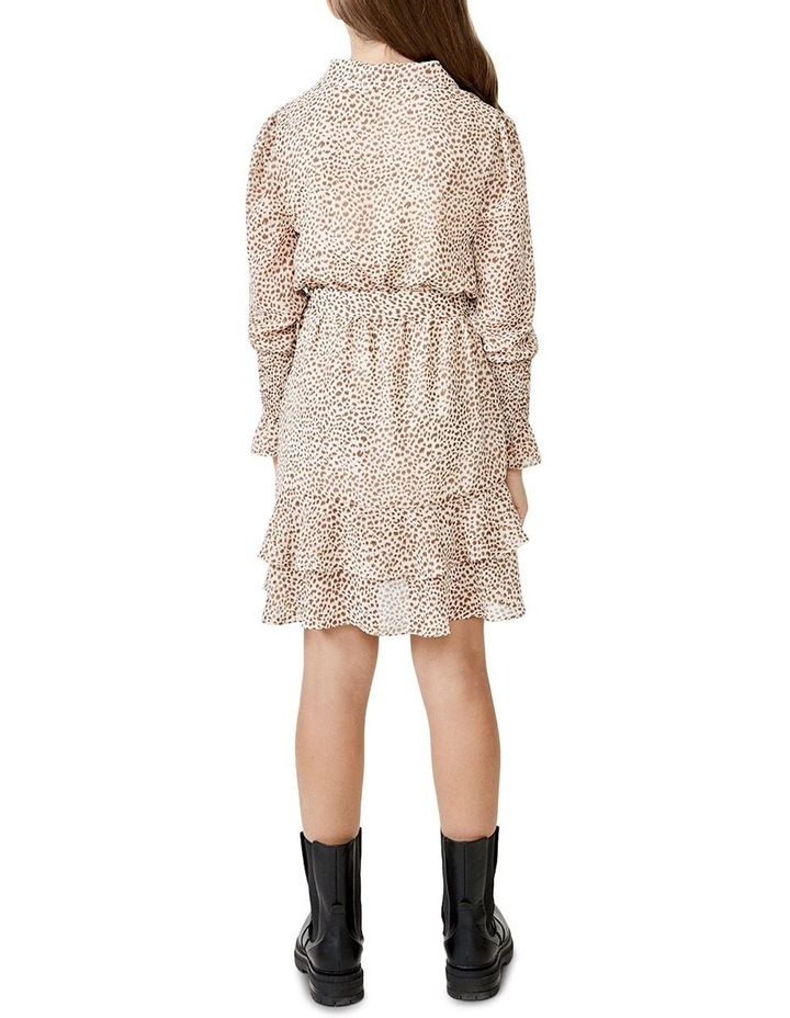 Bessie Mini Dress Beige image 3
