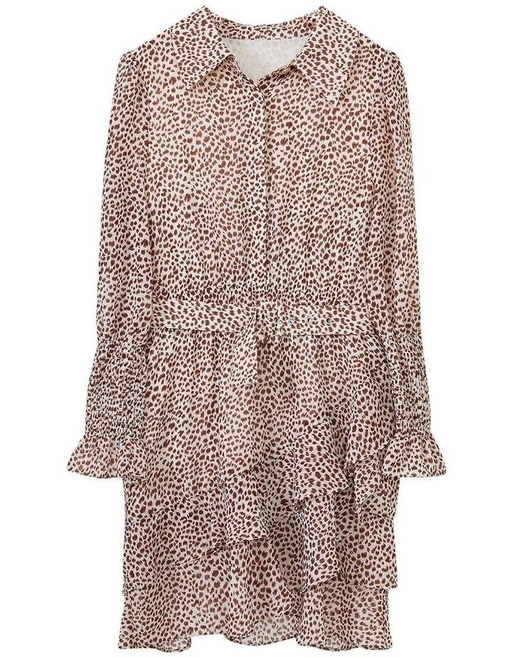 Bessie Mini Dress Beige image 5