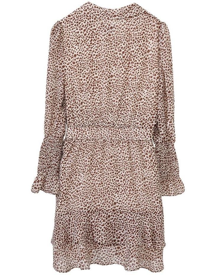Bessie Mini Dress Beige image 6