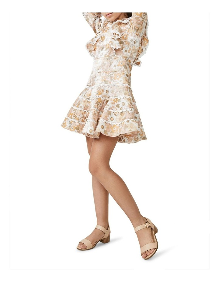 Sadie Trim Vintage Floral Printed Dress Multicolour image 1