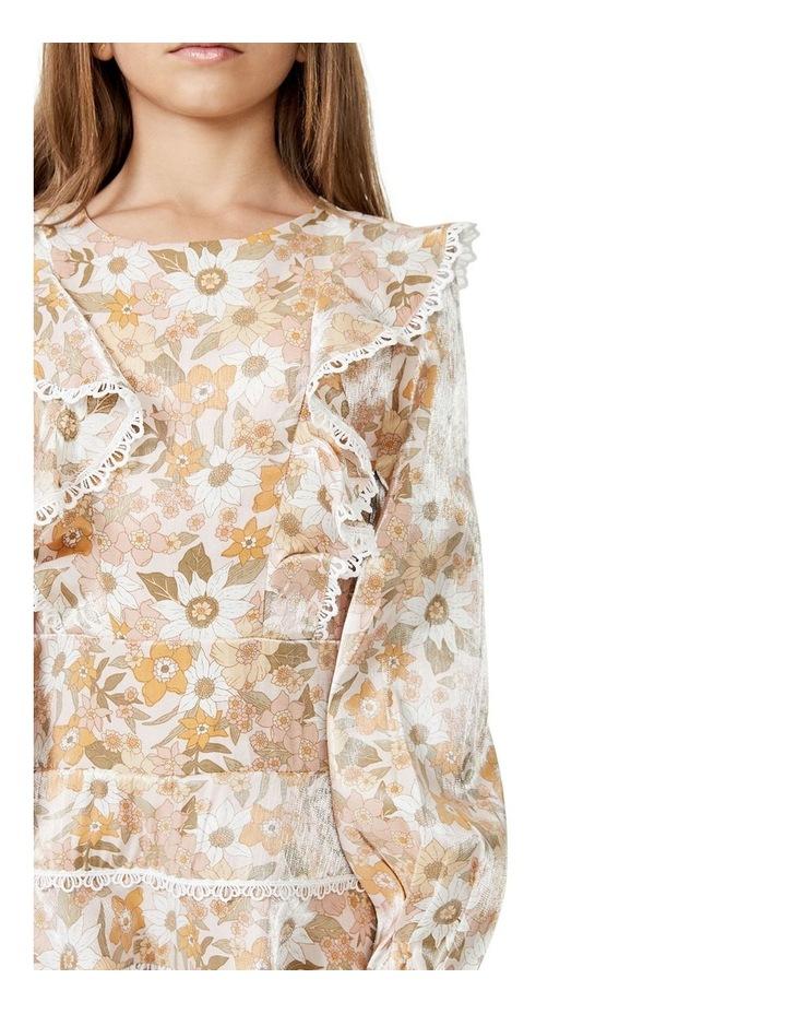 Sadie Trim Vintage Floral Printed Dress Multicolour image 2