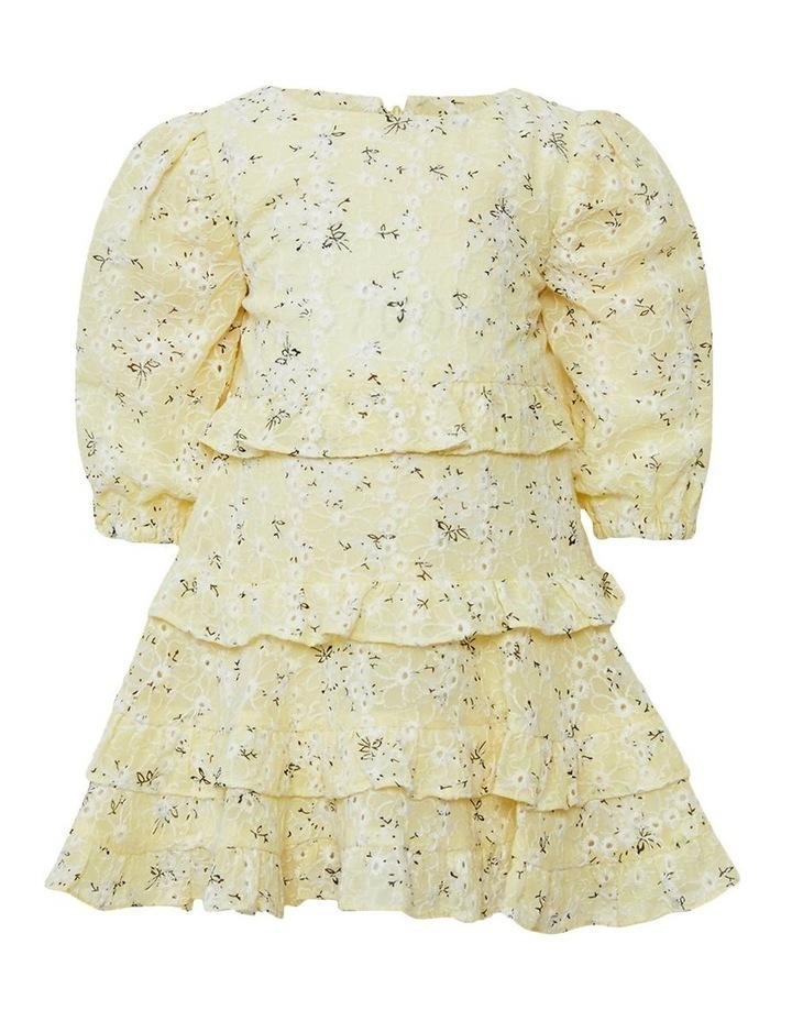 Henri Floral Dress Yellow image 1