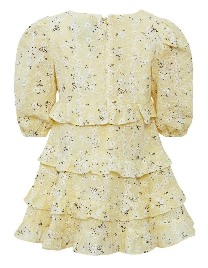Henri Floral Dress Yellow image 2