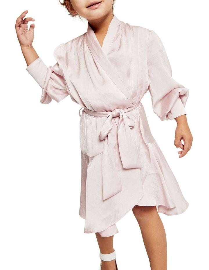 Aaliyah Wrap Mini Dress image 3
