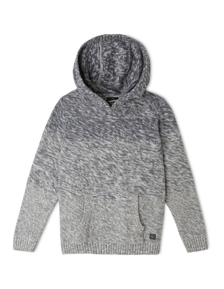 Ombre Hooded Sweater image 1