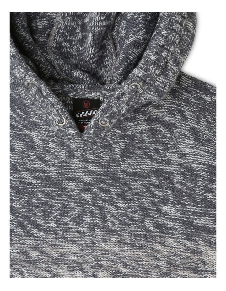 Ombre Hooded Sweater image 2