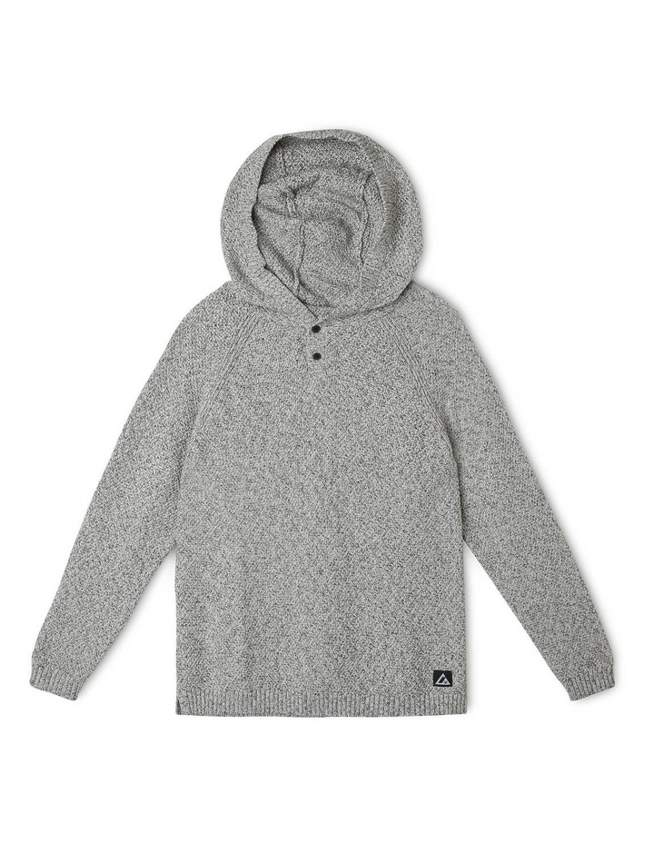 Hooded Knitted Jumper image 1