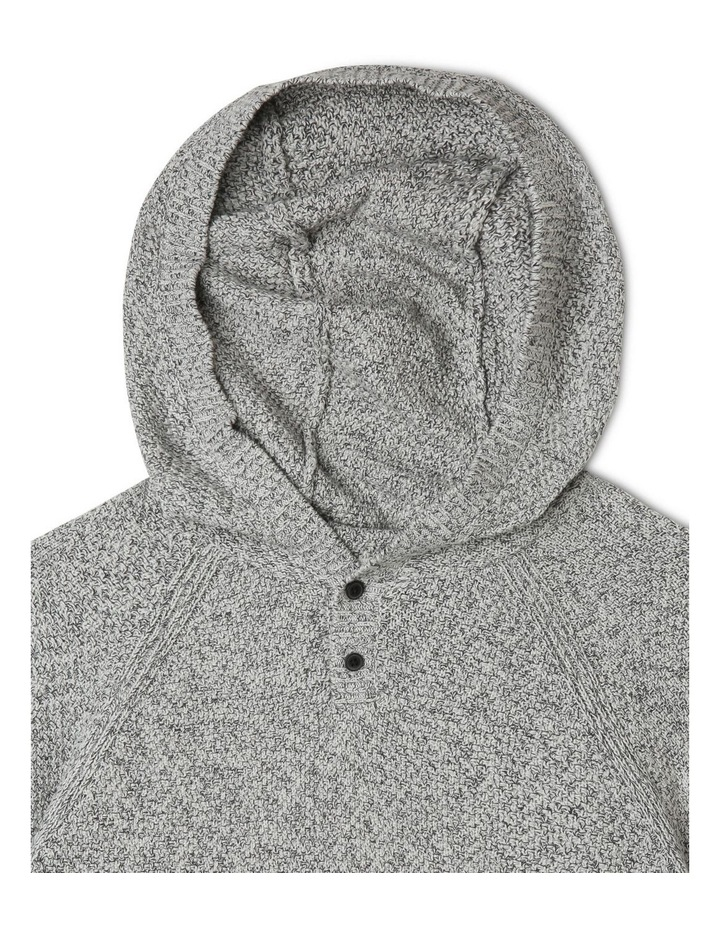 Hooded Knitted Jumper image 2