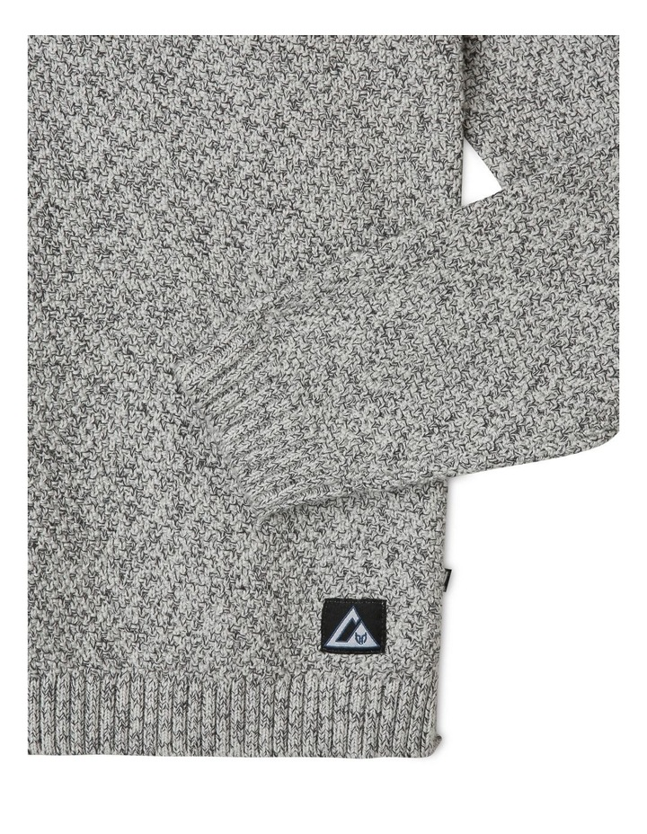 Hooded Knitted Jumper image 3