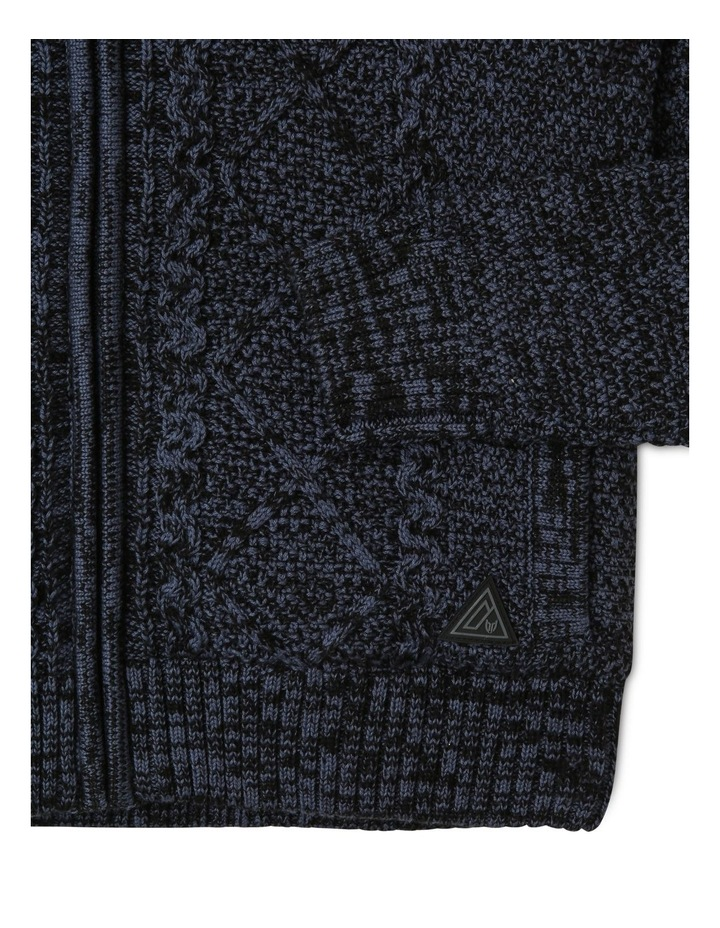 Sherpa-Lined Hooded Sweater image 2