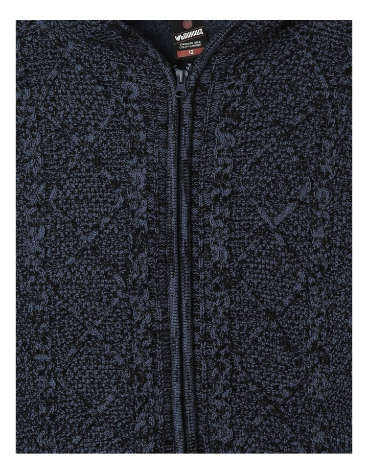 Sherpa-Lined Hooded Sweater image 3