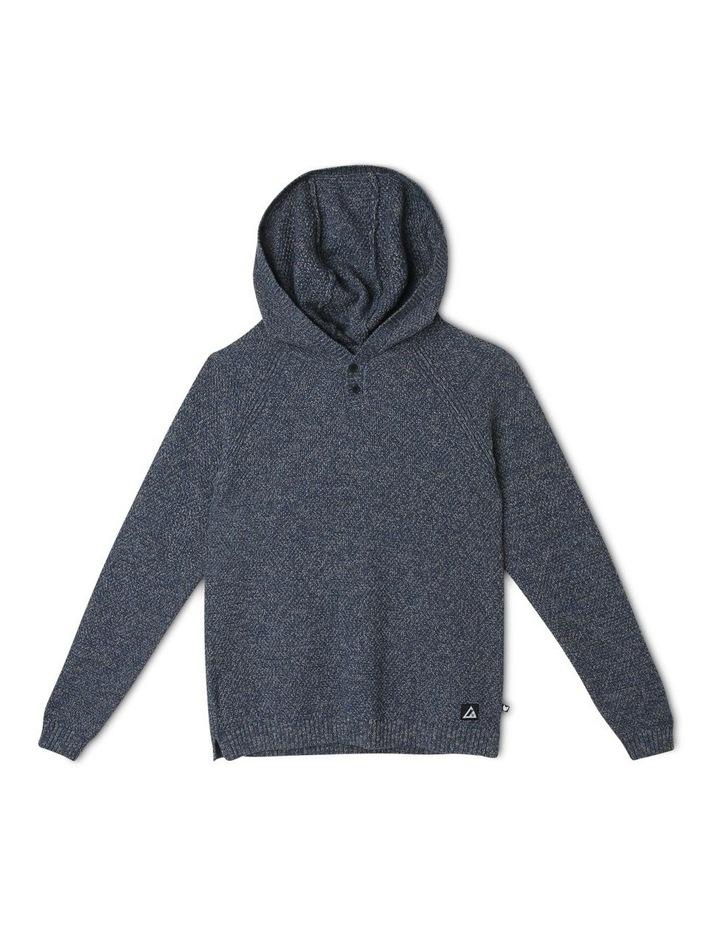 Hooded Knit Jumper image 1
