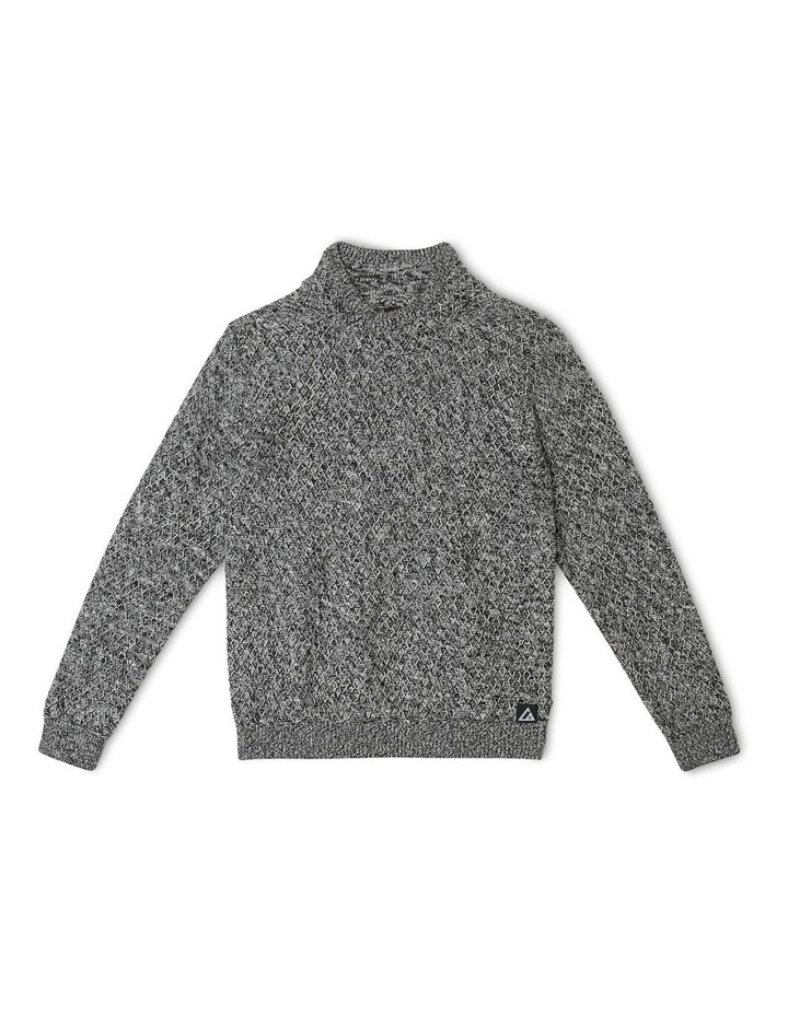 Cowl-Neck Knitted Jumper image 1