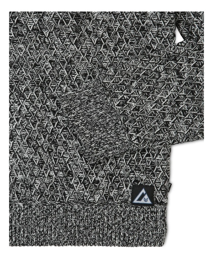 Cowl-Neck Knitted Jumper image 2