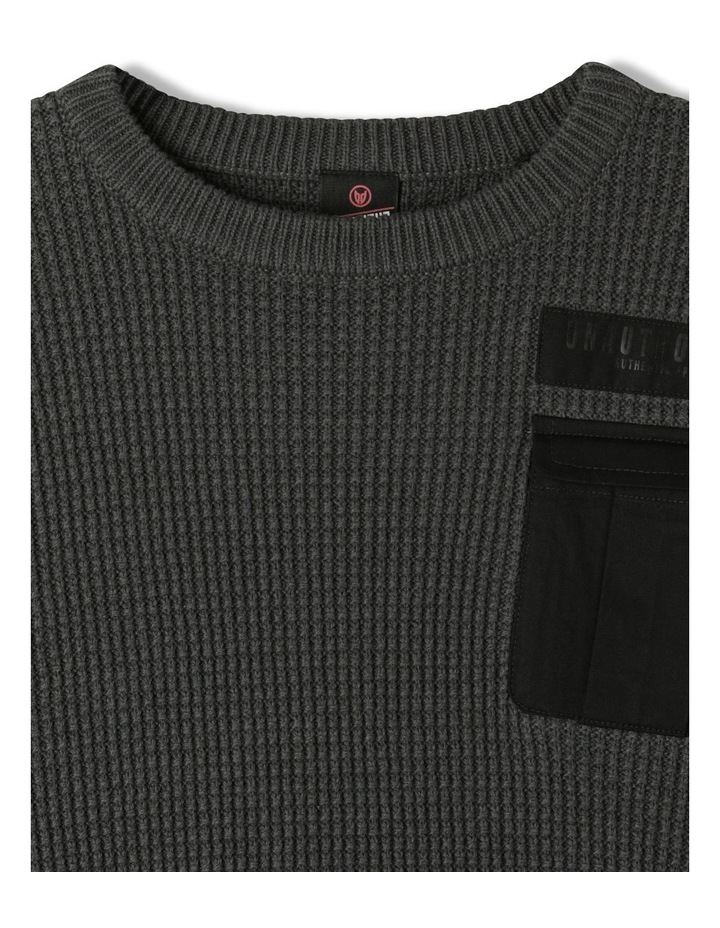 Knitted Waffle Utility Jumper image 2