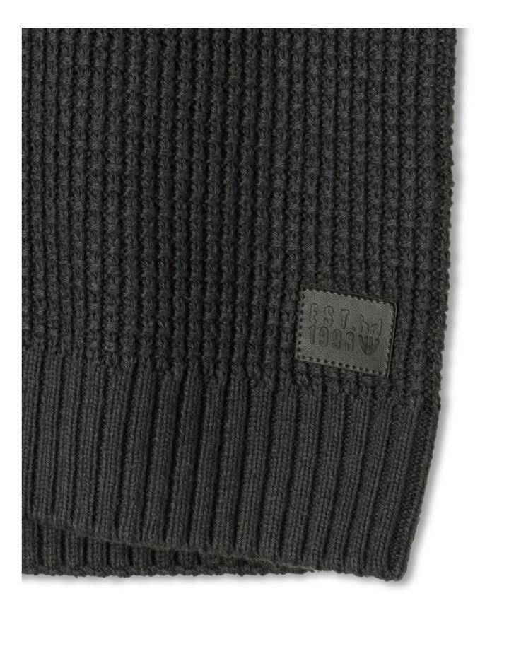 Knitted Waffle Utility Jumper image 4
