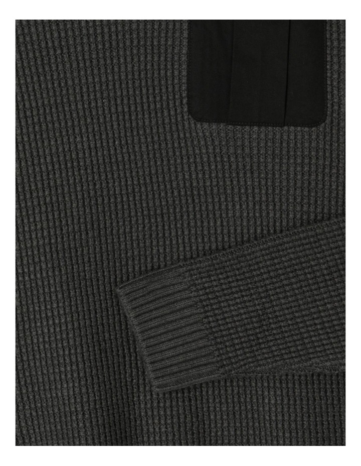 Knitted Waffle Utility Jumper image 5