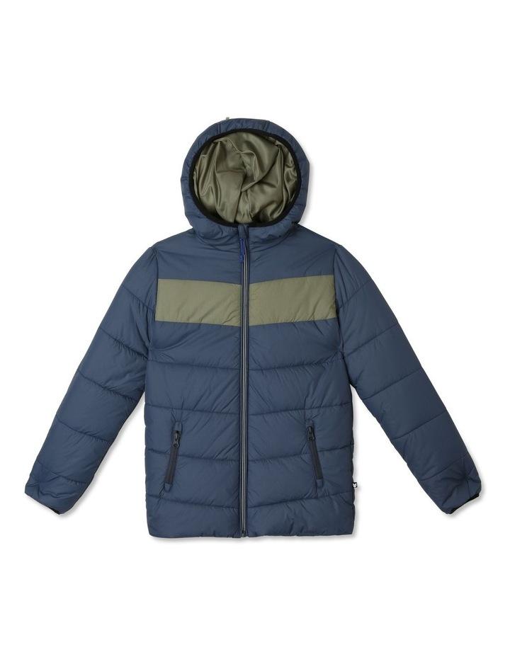 Spliced Puffer Jacket image 1