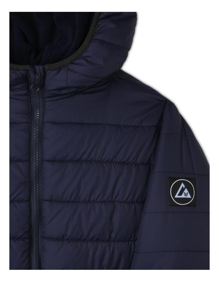 Hooded Puffa Jacket image 2