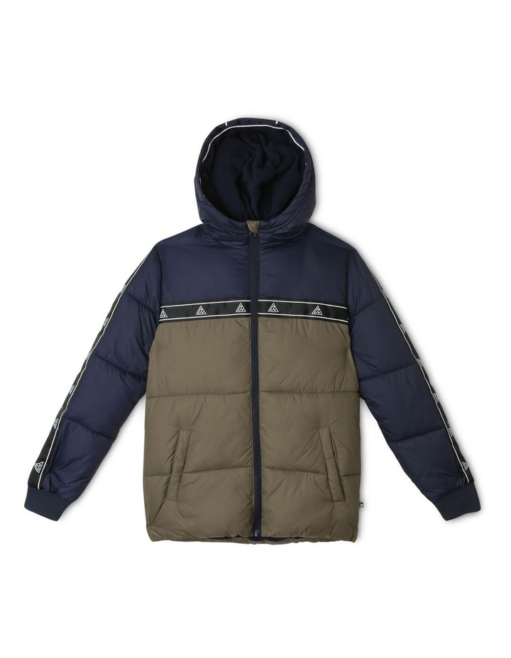 Spliced Puffer Jacket image 1