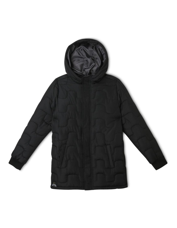 Hooded Puffer Coat image 1