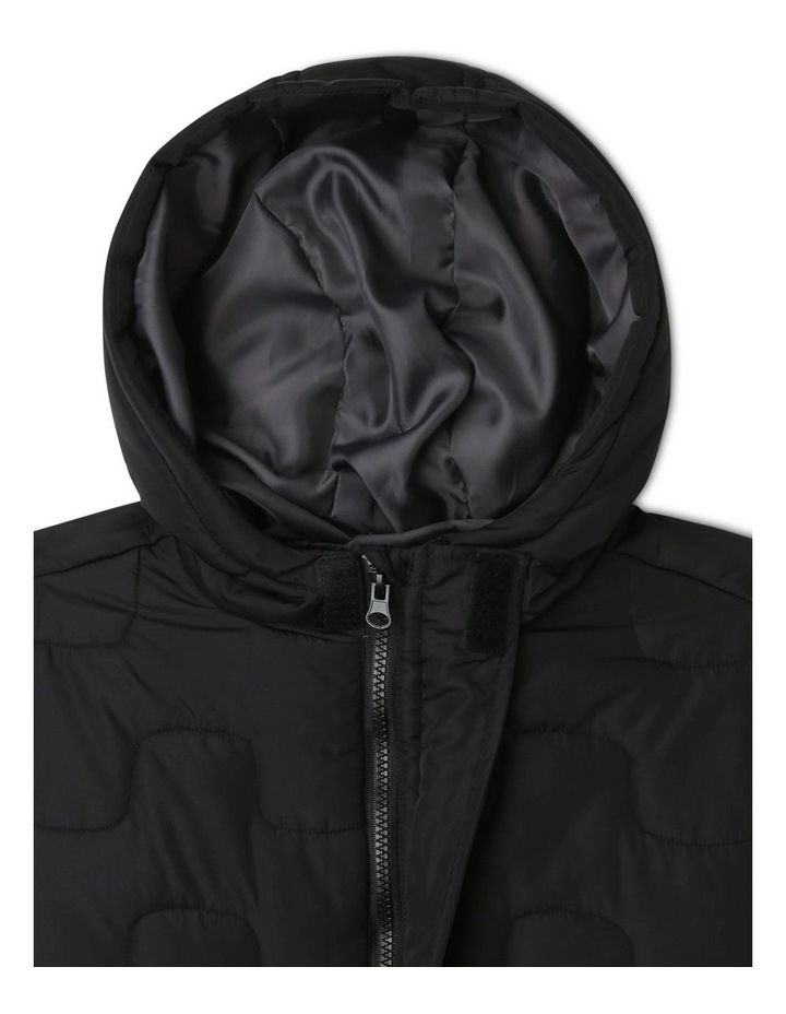 Hooded Puffer Coat image 3