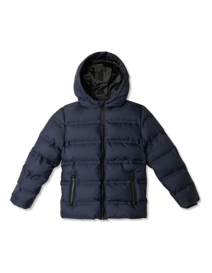 Puffer Jacket with Hood image 1