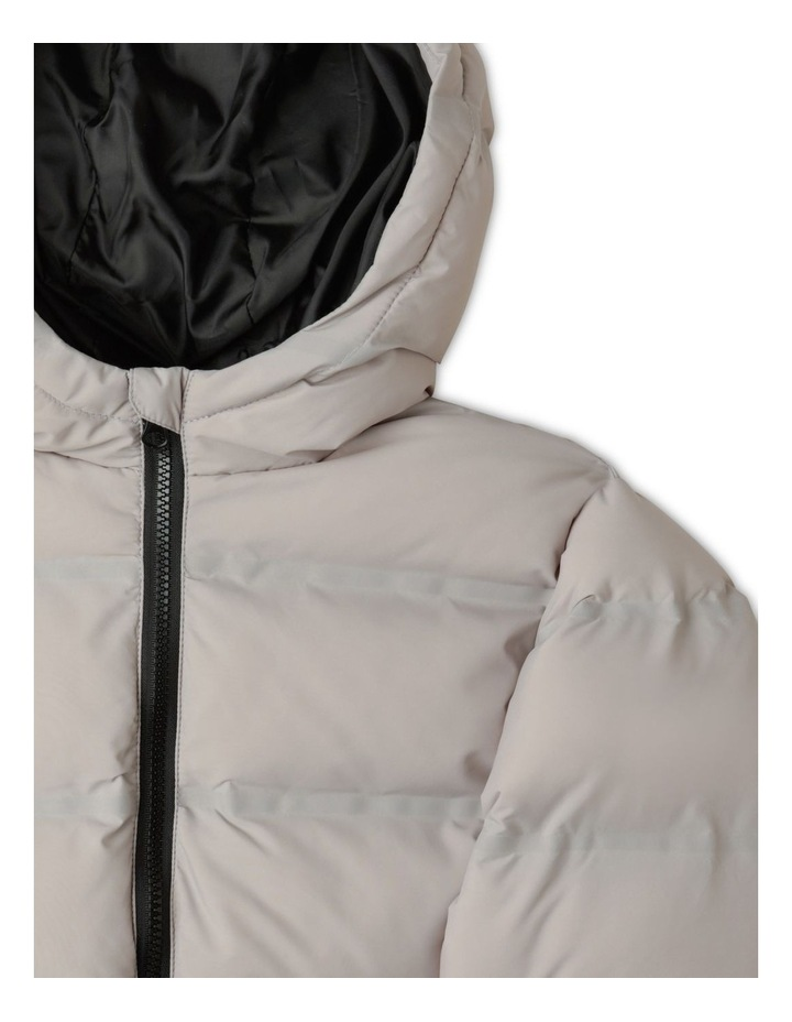 Puffer Jacket with Hood image 2