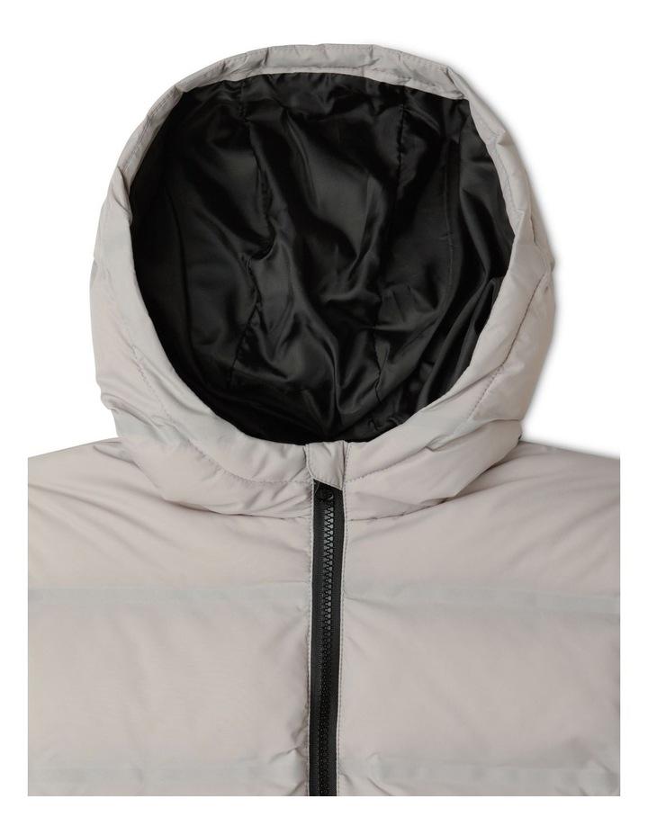Puffer Jacket with Hood image 3