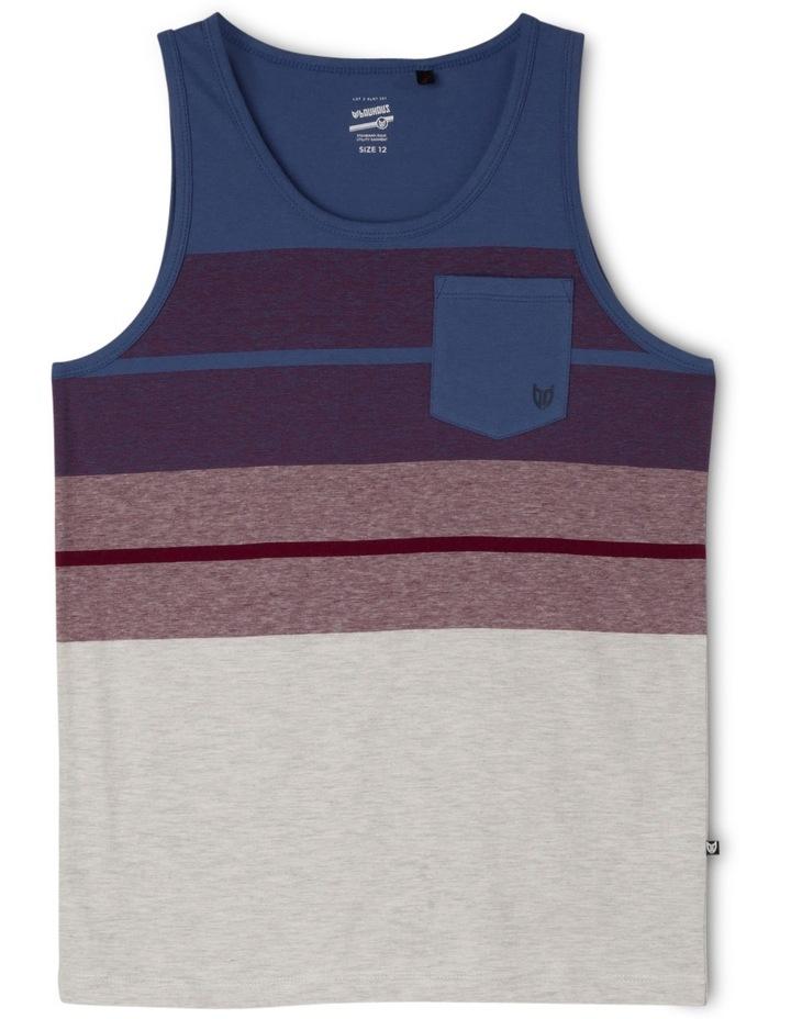 Yarn Dye Singlet With Pocket image 1