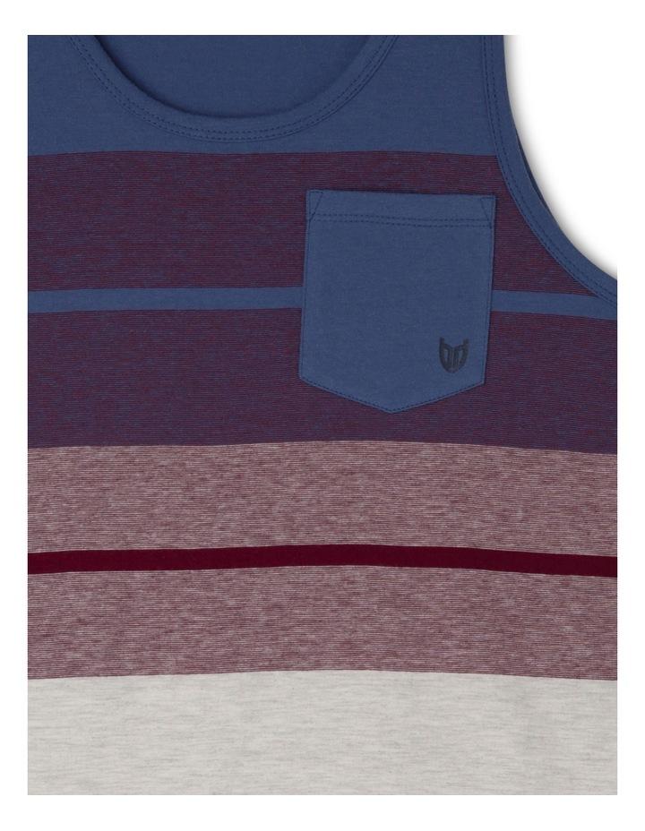 Yarn Dye Singlet With Pocket image 2