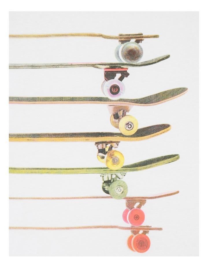 Skateboard Stack Tee image 2