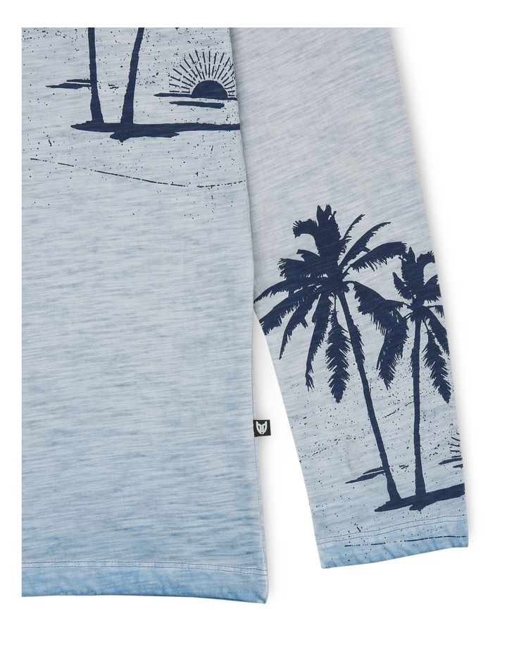 Inside Dye Beach Print Long Sleeve Tee image 3