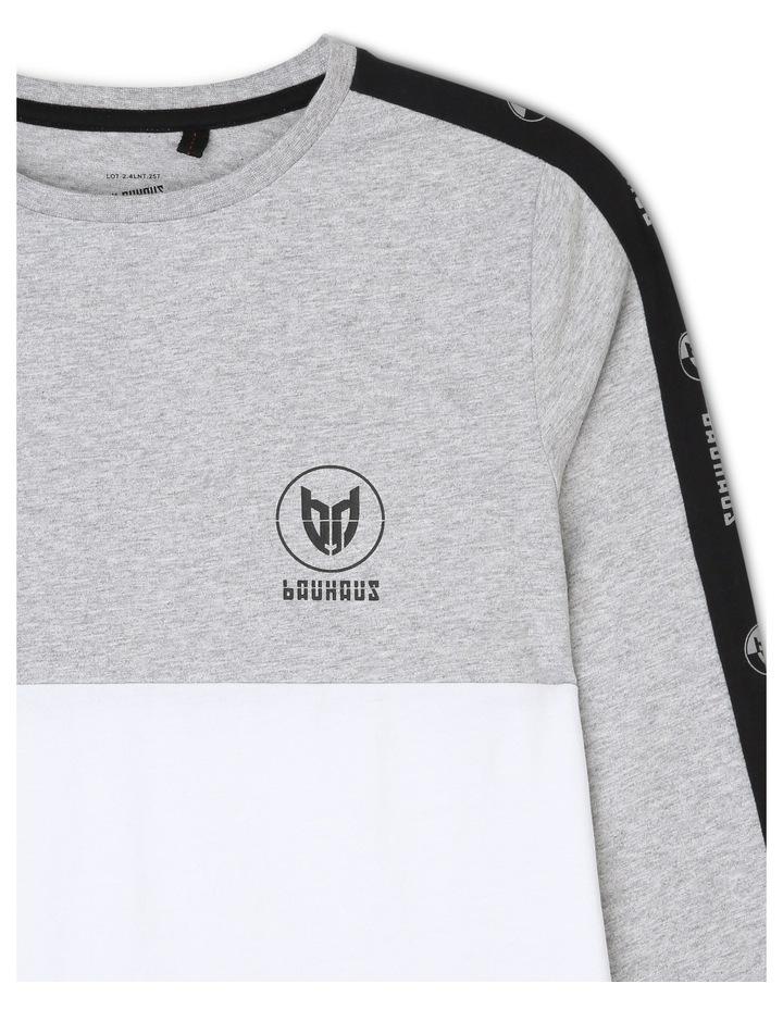 Spliced Long Sleeve T-Shirt image 2